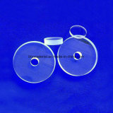 3 mm de espessura transparente Round Wafer de quartzo