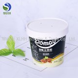 Taza de papel disponible biodegradable del helado del 100% en China