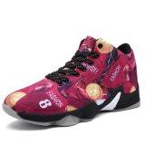 Горячий продавая способ резвится ботинки баскетбола высокой помощи баскетбола ботинок людей Носить-Сопротивляя