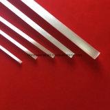 Blanco perla tubo de cuarzo con una buena estabilidad térmica