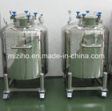 100-1000L en acier inoxydable de mélange en cuve de stockage de navire