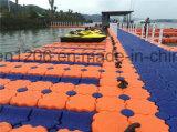 Le Gâteau chaud plate-forme flottante ponton de la plate-forme de l'eau en plastique