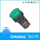 緑AC 110V LED軽いDC 16mmの表示器