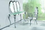 現代ステンレス鋼のコンソールテーブルの側面表の端の卓上スタンド表の居間の家具