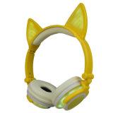 Hoofdtelefoons van het Oor van de Kat van de Vorm van de bevordering de Eigen Privé, LEIDENE Lichte Hoofdtelefoons
