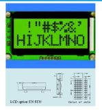 Schrifttyp LCD-Baugruppee Stce 08200 ohne Hintergrundbeleuchtung