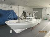 Liya 25pés barco da consola central para a pesca modelo Panga Barco de Pesca com T-top