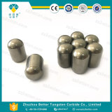 Botones del carburo de tungsteno para la industria de la perforación y de petróleo