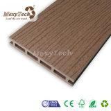 Deckingの床のための安く防水屋外WPCのプラスチック合成のパネル