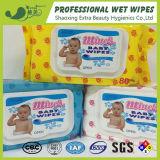 Il vario bambino del pacchetto pulisce il tovagliolo bagnato del tessuto bagnato