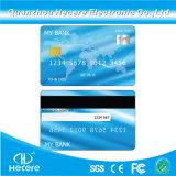 Impressão CMYK branco de plástico de PVC inteligente entre em contato com a FM4442 Chip cartão IC em branco para o Hotel