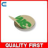 Magnete personalizzato del neodimio del disco con l'autoadesivo di 3m