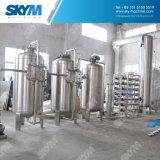 天然水のための50ton/H水処理システム