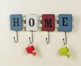 Lettres d'amour de bois décoratifs OEM Hanger crochets muraux