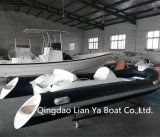 Petite vente de bateau de Hypalon de bateau de côte de bateaux de vitesse de Liya 4.3meter