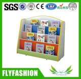 Het populaire Houten Gebruikte Boekenrek van het Meubilair van het Kinderdagverblijf voor Kinderen (sf-98C)