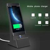 Dernière vente chaude plus pratique Pied magnétique chargeur sans fil pour les téléphones mobiles