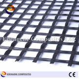 fibre de verre enduite Geogrid du bitume 120kn pour le renfort de trottoir d'asphalte