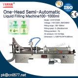 Máquina de rellenar semiautomática para G1wyd-1000 detergente