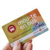 Fabricante Ntag HF213/Ntag215/Ntag216 RFID de PVC tarjeta NFC para el pago