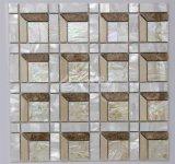2017 새로운 디자인 쉘 혼합 대리석 모자이크 건축재료 300*300mm