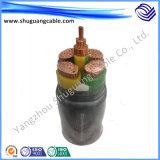 Обшитый PVC кабель электропитания