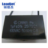 V150 Date, le code à barres, numéro de série Type d'impression Imprimante jet d'encre