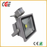 Foco LED LED Sensor de radar Iluminación Exterior LED Proyectores lámparas para proyectores de movimiento del sensor de radar de alta potencia 10W/20W/30W/50W/80W