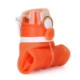 Широк-Рта спорта 1000 Ml бутылка питьевой воды складного многоразовая
