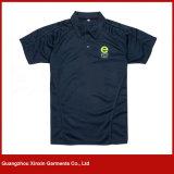 T-shirts du golf de qualité des hommes faits sur commande de coton avec votre propre logo (P93)