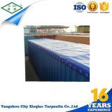 供給の中国の製造業者PVCは容器の保護カバーのための防水シートに塗った