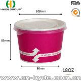 20 унции Custom печать мороженое бумаги наружное кольцо подшипника