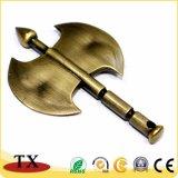 Supporto di tasto dell'ascia della catena chiave del metallo dello scure del metallo mini