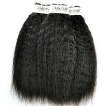 Kinky peruano virgem não transformados reta cabelos ao preço por grosso