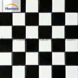 White and Black Porcelain Mosaic Standard Swimming Pool Ceramic Basts