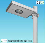 8W IP65 PIR Sensor All in One LED Outdoor Solar Street Light