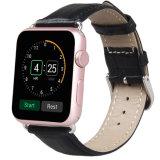 Apple를 위한 최신 판매 가죽 악대 악어 진짜 가죽 시계 줄