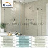 新しいデザイン浴室の卸売のための薄緑のガラスBacksplashのタイル