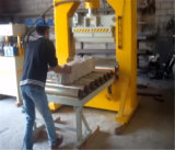 Granito/mármore hidráulicos que quebra a máquina para o bloco da pedra da estaca cúbico
