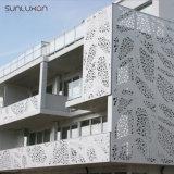 Schermo di alluminio del taglio del laser di disegno del comitato di parete dello strato del rivestimento