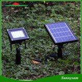 20 lumière extérieure solaire de l'horizontal DEL de chemin de rue de yard de jardin de lumière d'inondation du projecteur IP65 de panneau de pouvoir de DEL