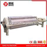 Macchina automatica della filtropressa dell'alloggiamento del tondo pp dei residui di ceramica