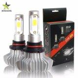 極度の明るい車LEDのヘッドライト12000lm H4 H3 9005は9006 H1 H7 12V LEDのヘッドライトを防水する