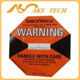 Чувствительный ярлык удара Shockwatch индикатора удара