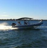 Liya 22 pés de venda inflável dos barcos do reforço dos barcos de borracha