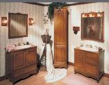 Moderne festes Holz-Badezimmer-Schrank-Eitelkeit (W-008)