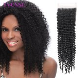 Бразильское закрытие шнурка продуктов волос Kinky курчавое освобождает перевозку груза