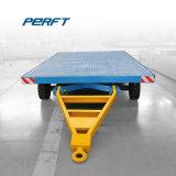Aanhangwagen van de Overdracht van de Vrachtwagen van het Vervoer van de Wagen van de Overdracht van de Lorrie van de installatie Flatbed