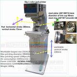 TM-XL Plastik bedeckt lange Stab-Doppelventilkegel-Tinten-Cup-Auflage-Drucken-Maschine mit einer Kappe