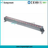 colada impermeable al aire libre de la pared de la iluminación de 18PCS 12W Rgbaw 5in1 LED